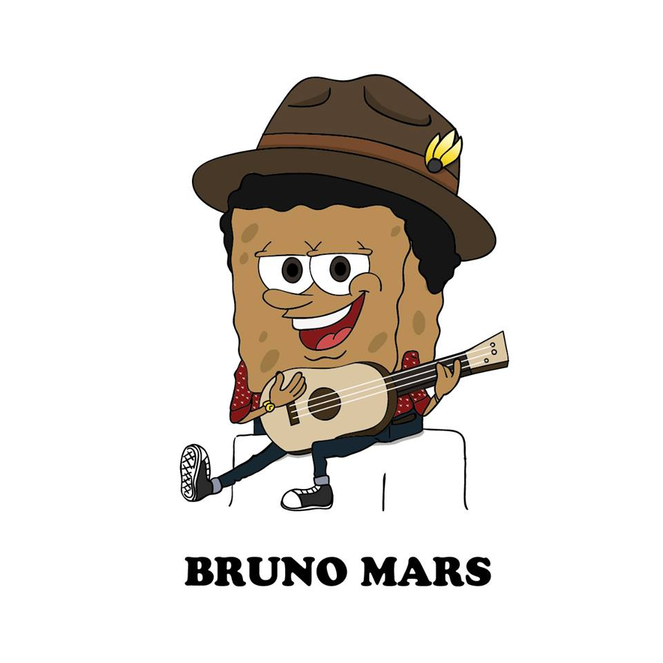 cartoon-bruno-mars
